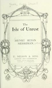 Cover of: The isle of unrest | Merriman, Henry Seton
