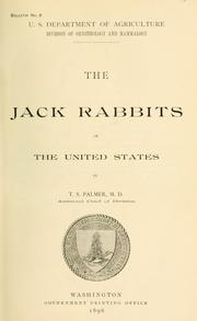 Cover of: The jack rabbits of the United States