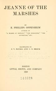 Cover of: Jeanne of the marshes | E. Phillips Oppenheim