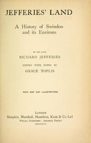 Cover of: Jefferies