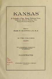 Cover of: Kansas by
