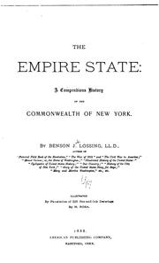 Cover of: The Empire State: A Compendious History of the Commonwealth of New York