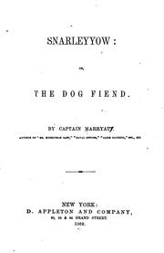Cover of: Snarleyyow ; Or, The Dog Fiend