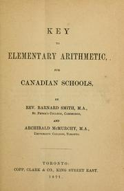 Cover of: A key to Elementary trigonometry