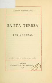 Cover of: Las moradas