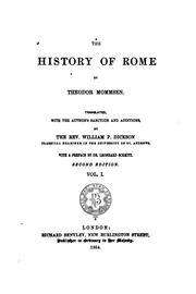 Cover of: The History of Rome