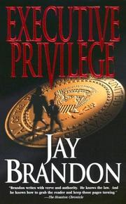 Cover of: Executive Privilege (Chris Sinclair)