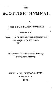 Cover of: The Scottish Hymnal: Hymns for Public Worship