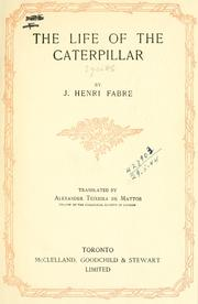 Cover of: The life of caterpillar