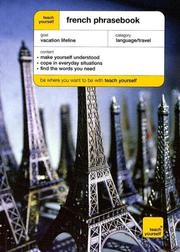 Cover of: Teach Yourself French Phrase Book (Teach Yourself) | Ena Fowler