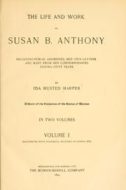 the life and works of susan b anthony Susan b anthony, a timeline made with timetoast's free interactive timeline making software  the life and works of susan b anthony.