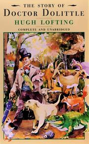 Cover of: The Story of Dr. Dolittle