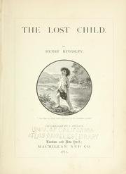 Cover of: The lost child