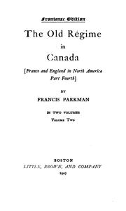 Cover of: Francis Parkman's Works