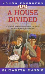 Cover of: 1863: A House Divided