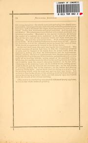 Cover of: Memorial address on the life and character of James Abraham Garfield, delivered before both houses of Congress