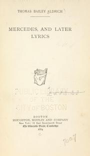 Cover of: Mercedes, and later lyrics