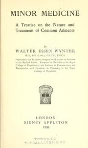 Cover of: Minor medicine | Walter Essex Wynter