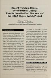 Cover of: Mussel watch | Thomas P. O