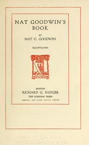 Cover of: Nat Goodwin's book