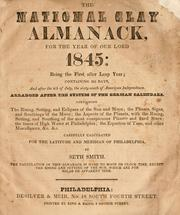 The national Clay almanack, for the year of Our Lord 1845 ...