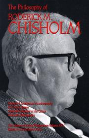 Cover of: The Philosophy of Roderick Chisholm, Volume 25 (Library of Living Philosophers)