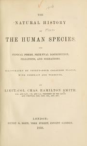 Cover of: The Natural History of the Human Species