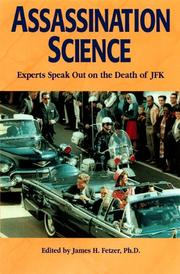 Cover of: Assassination Science