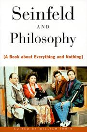Cover of: Seinfeld and Philosophy | Irwin, William.