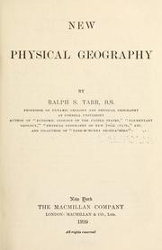 Cover of: New physical geography