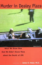 Cover of: Murder in Dealey Plaza