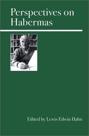 Cover of: Perspectives on Habermas