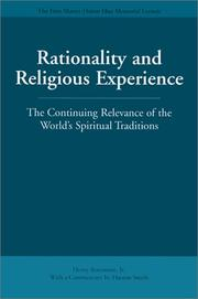 Cover of: Rationality and Religious Experience | Henry Rosemont