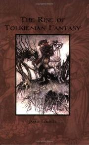 Cover of: rise of Tolkienian fantasy | Jared Lobdell