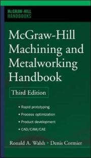 Cover of: McGraw-Hill Machining and Metalworking Handbook (McGraw-Hill Handbooks)
