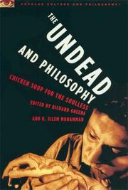 Cover of: The Undead and Philosophy |