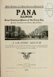 Cover of: Pana, Illinois |