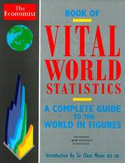 Cover of: Economist Book of Vital World Statistics | Robert J. Samuelson