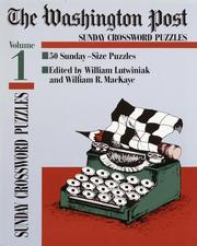 Cover of: Washington Post Sunday Crossword Puzzles, Volume 1 (Washington Post)