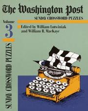 Cover of: Washington Post Sunday Crossword Puzzles, Volume 3 (Washington Post)