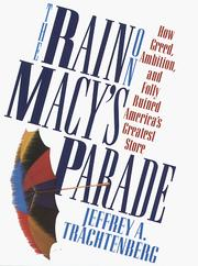 Cover of: The rain on Macy's parade