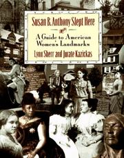 Cover of: Susan B. Anthony slept here