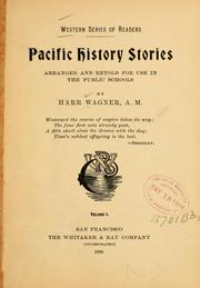 Cover of: Pacific history stories: arranged and retold for use in the public schools
