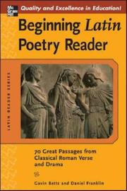 Cover of: Beginning Latin poetry reader by
