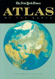 Cover of: The New York Times Atlas of the World
