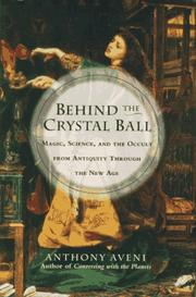 Cover of: Behind the crystal ball