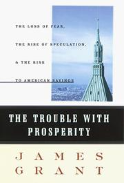 Cover of: The trouble with prosperity