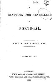Cover of: A Handbook for Travellers in Portugal ...: With a Travelling Map by John Murray (Firm ), John Murray