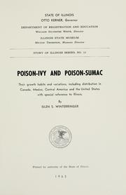 Cover of: Poison-ivy and poison-sumac