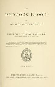Cover of: The Precious Blood; or, The price of our salvation